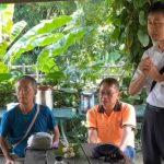 宜蘭憲明國小蒞臨野菜學校舉行讀書會